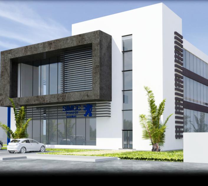 Immeuble de bureaux SIMCC